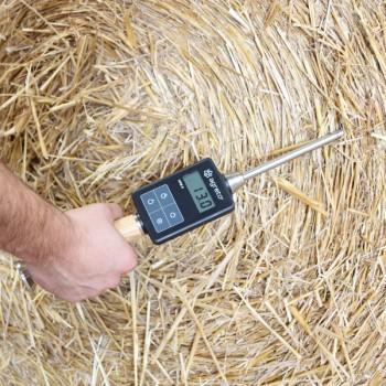 AGRETO HFM II Feuchtemessgerät für Heu und Stroh 50cm