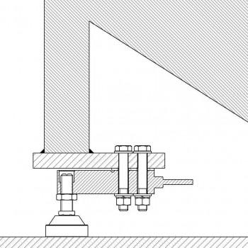 Waagenbausatz für Dosierwaage 4 x 2t, DGTQ