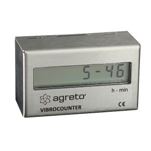Betriebsstundenzähler / Rüttelzähler / Rütteluhr AGRETO VibroCounter