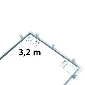 Einbausatz für Wiegeplattform 3,2 x 1 m