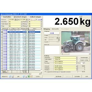 Softwaresteuerung für AGRETO Überfahrwaage