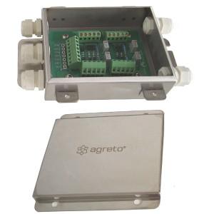 Verbindungsbox für AGRETO Wiegetechnik