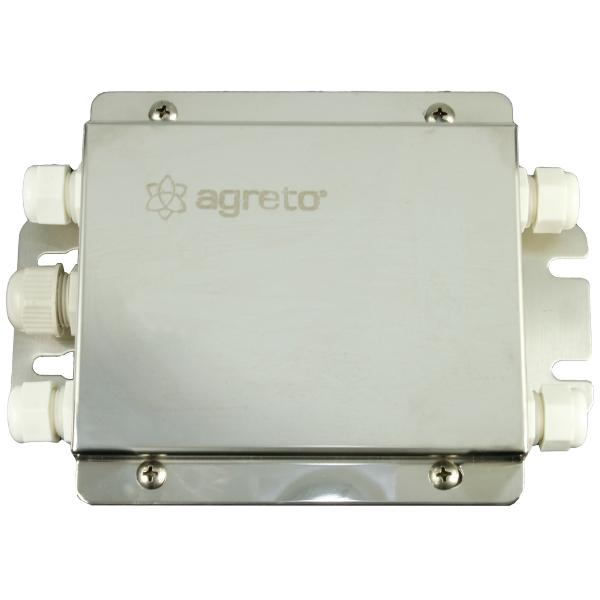 Verbindungsbox 4-fach für AGRETO Wiegetechnik